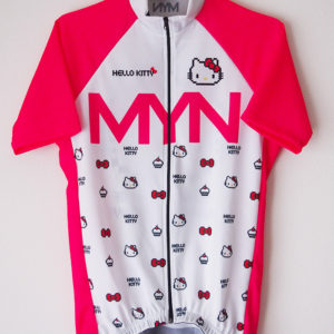 MYN x HELLO KITTY サイクルジャージ-WHTPNK